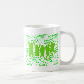 St Patricks Day Party Poster Coffee Mug