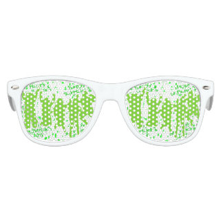 St Patricks Day Party Poster Kids Sunglasses