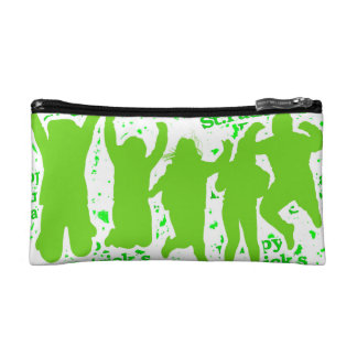 St Patricks Day Party Poster Makeup Bags