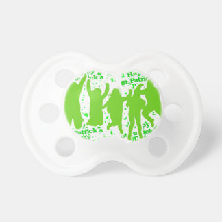 St Patricks Day Party Poster Pacifier