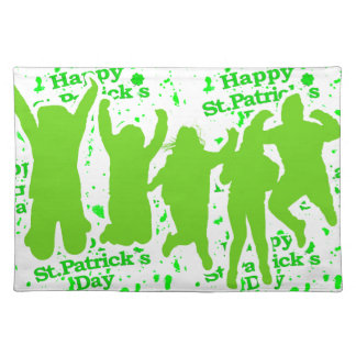 St Patricks Day Party Poster Placemat
