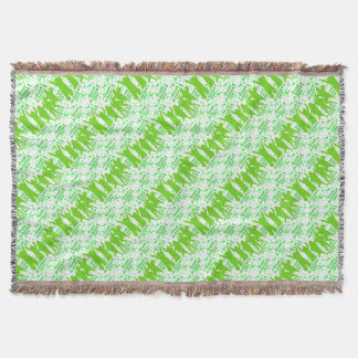 St Patricks Day Party Poster Throw Blanket