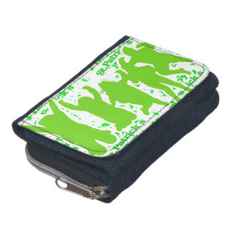 St Patricks Day Party Poster Wallet