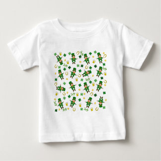 St Patricks day pattern Baby T-Shirt