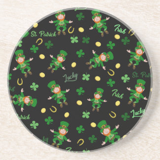 St Patricks day pattern Coaster