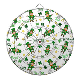 St Patricks day pattern Dartboard