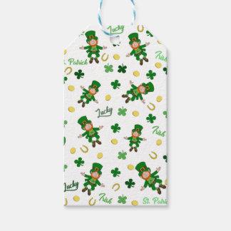 St Patricks day pattern Gift Tags