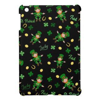 St Patricks day pattern iPad Mini Cover