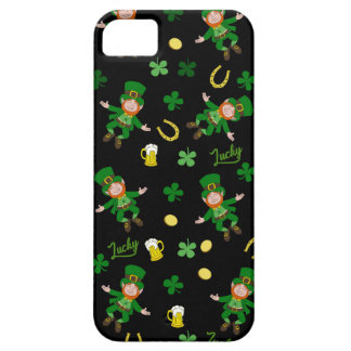 St Patricks day pattern iPhone 5 Case