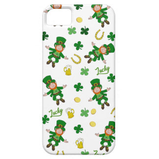 St Patricks day pattern iPhone 5 Cover