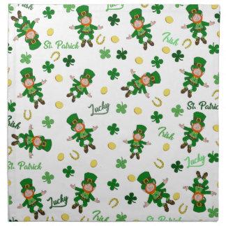 St Patricks day pattern Napkin