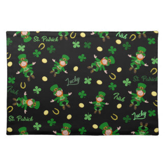 St Patricks day pattern Placemat