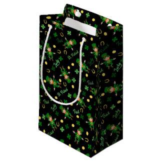 St Patricks day pattern Small Gift Bag