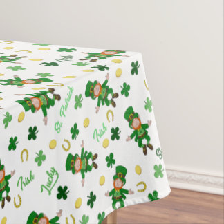 St Patricks day pattern Tablecloth