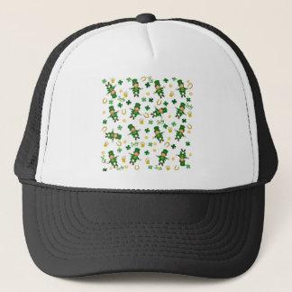 St Patricks day pattern Trucker Hat