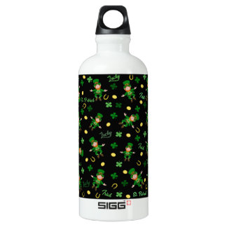 St Patricks day pattern Water Bottle