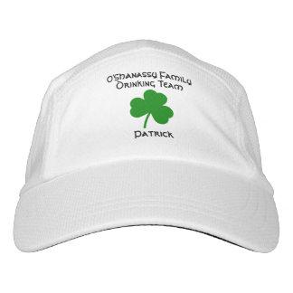 St. Patrick's Day Personalized Irish Drinking Team Hat