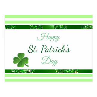 St Patrick's Day Personalized Post card