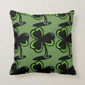 St. Patrick's Day Pillow Four Leaf Clover