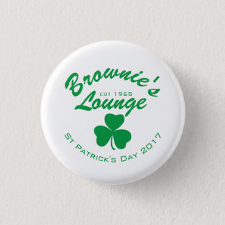 St. Patrick's Day pin back button 2017