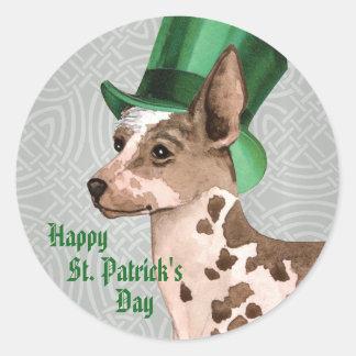 St. Patrick's Day PIO Round Sticker