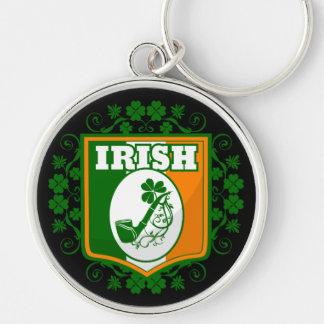 St Patricks Day Pipe Keychain