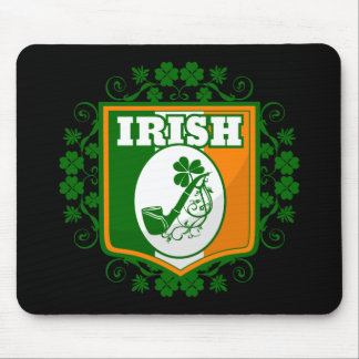 St Patricks Day Pipe Mouse Pad