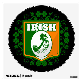 St Patricks Day Pipe Wall Sticker