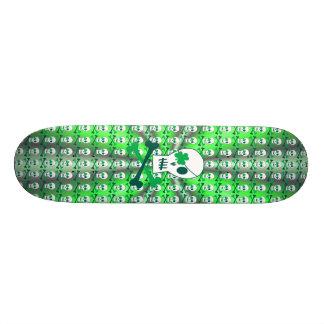 St. Patrick's Day Pirate Skate Board Deck