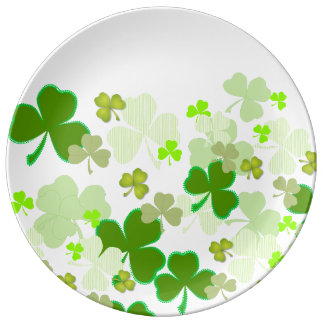 St. Patrick's Day Plate