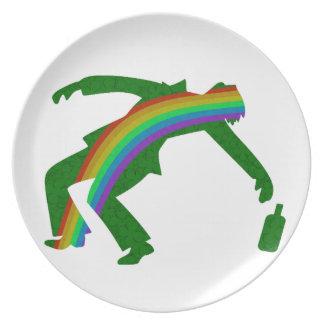 St. Patricks day Plate