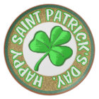 St Patricks Day Plate, Plate