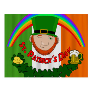 St. Patricks day Postcard