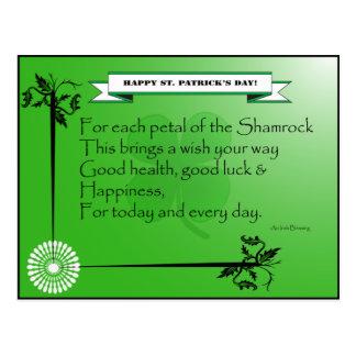 St Patrick's Day_Postcard Postcard