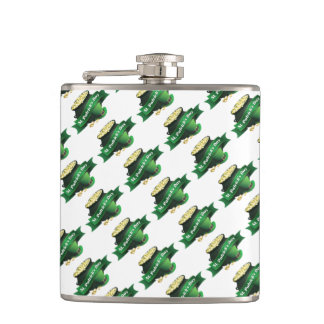 St. Patrick's day Pot of Gold Hip Flask