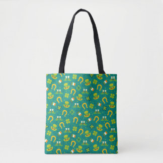 St. Patrick's Day Print Tote Bag