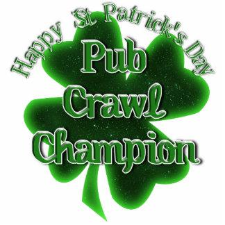 St Patrick's Day Pub Crawl Champion Acrylic Cut Outs