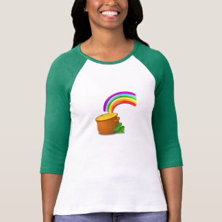 St. Patrick's Day Rainbow and Pot of Gold T-Shirt
