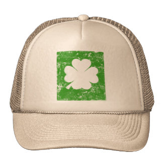 St. Patrick's Day, reverse Mesh Hat