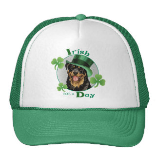 St. Patrick's Day Rottweiler Hat