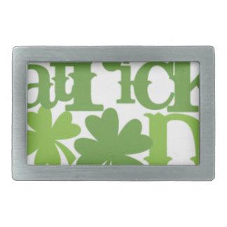 St Patrick's day, Saint Patrick Irish design Belt Buckle