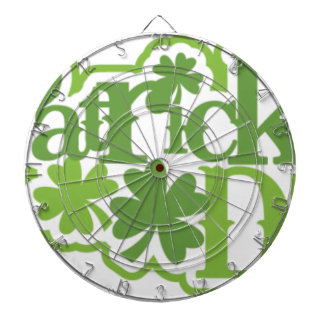 St Patrick's day, Saint Patrick Irish design Dartboard
