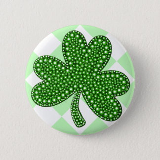 St Patricks Day Shamrock Classic 2 Inch Round Button
