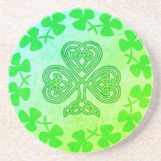 St. Patrick's Day Shamrock Coaster