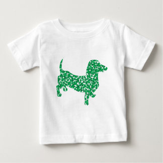 St Patricks Day Shamrock Doxie T-shirts