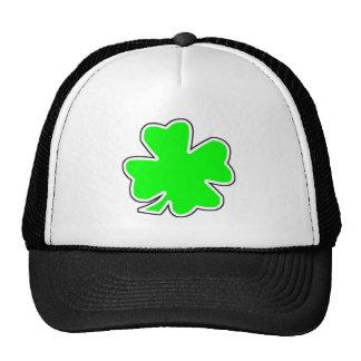 St. Patrick's Day Shamrock Trucker Hats