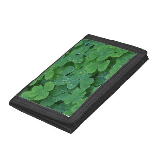 St Patricks Day Shamrock Lucky Wallet
