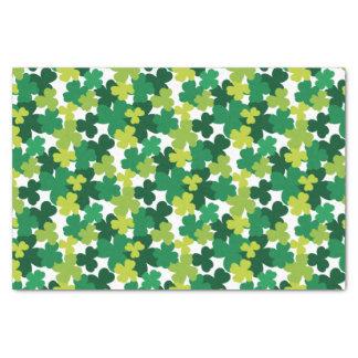 St. Patrick's Day Shamrock Pattern Tissue Paper
