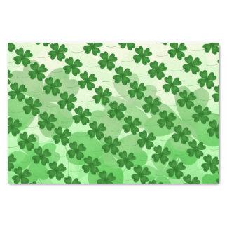 St Patricks Day Shamrock pattern Tissue Paper