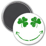 St Patrick's Day Shamrock Smiley face humour